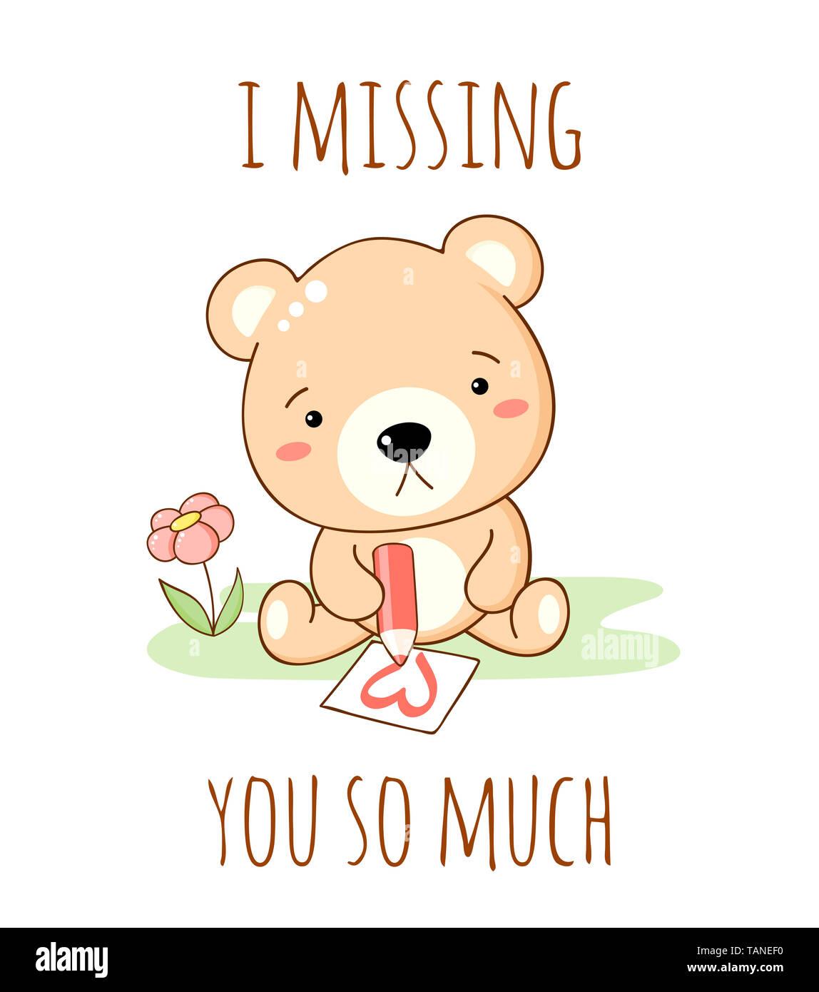 vermisse dich so sehr