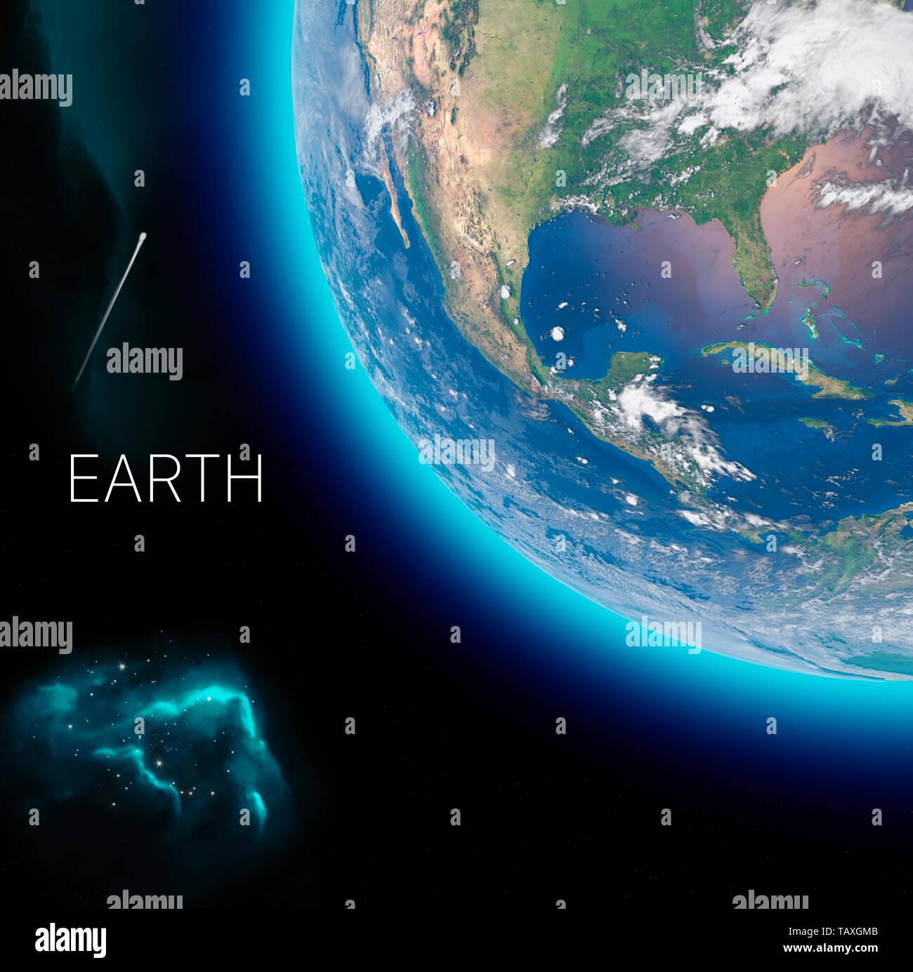 Mexiko Karte Welt.Physische Karte Der Welt Satelliten Mittel Und