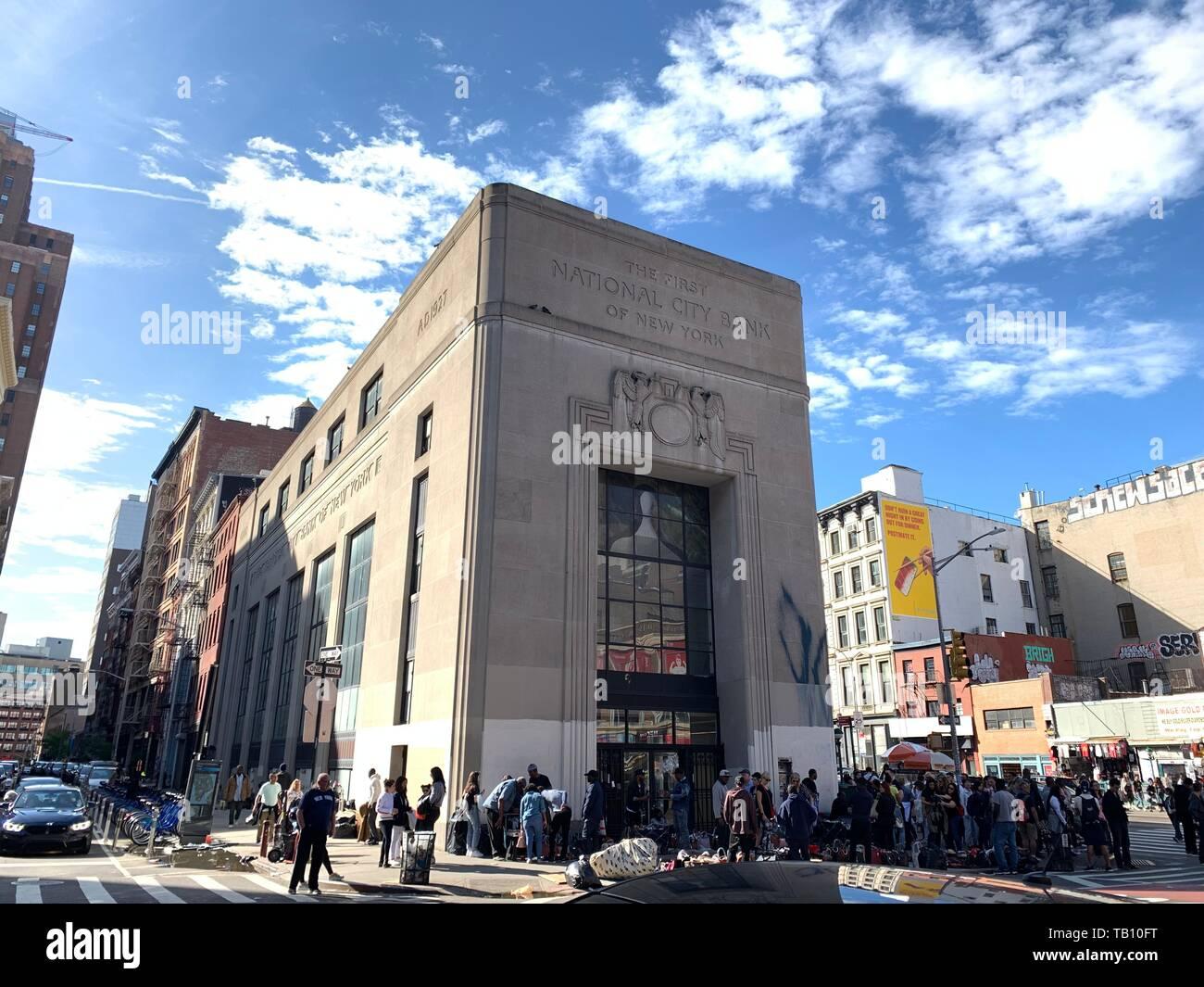 First National Bank in New York. F.N.B. Corporation ist ein Financial Services Corporation in Pittsburgh, Pennsylvania, und der Holding für Stockbild