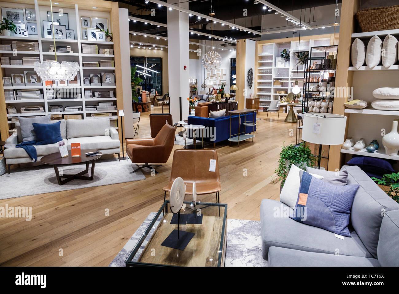 Miami Florida Miami Die Geschäfte In Midtown West Elm Innen Möbel