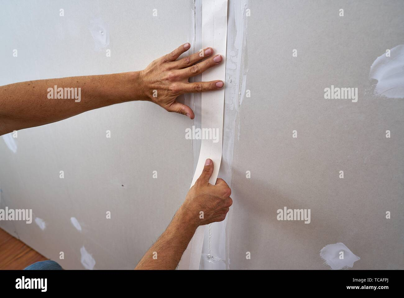 Bekannt Gipsplatten Stockfotos & Gipsplatten Bilder - Alamy TP75