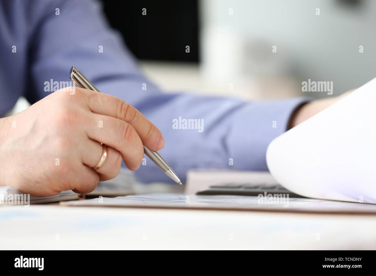 Unternehmensfinanzierung, Accounting, Banking-Konzept Stockbild