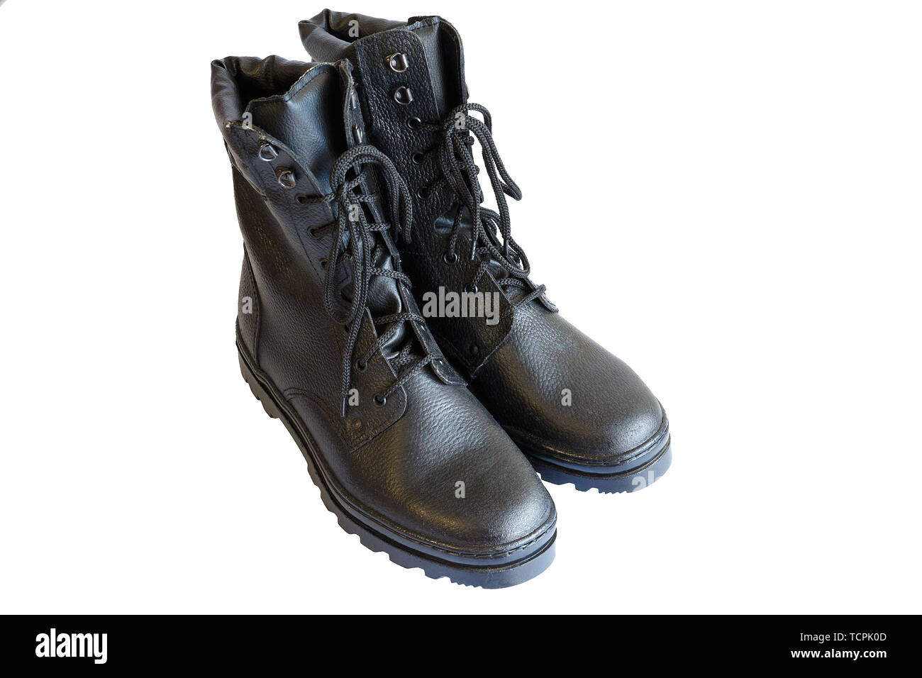 Pair Of Military Boots Stockfotos & Pair Of Military Boots