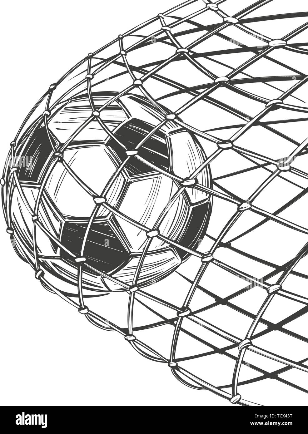 Fussball Fussball Ziel Kam Im Tor Win Sport Spiel Emblem