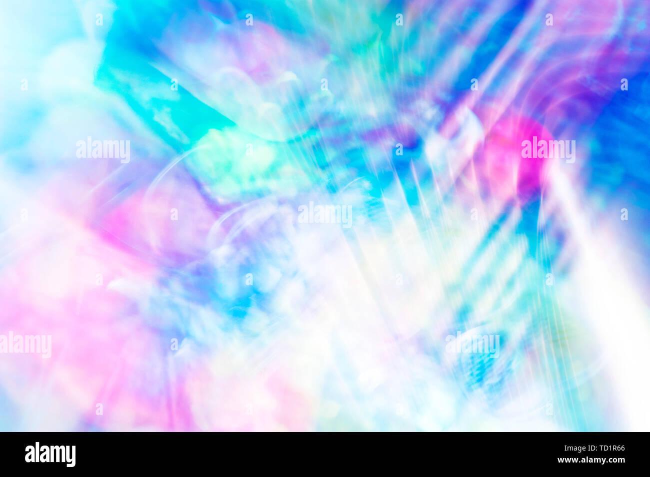 Bunte ethereal Abstrakt Hintergrund Stockbild