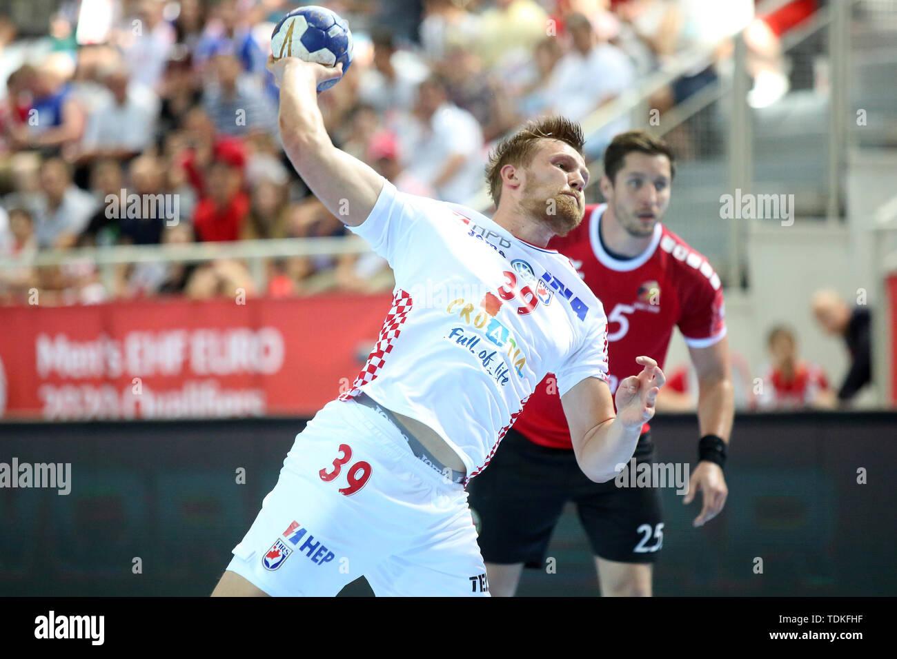 Porec Kroatien 16 Juni 2019 David Mandic Von Kroatien