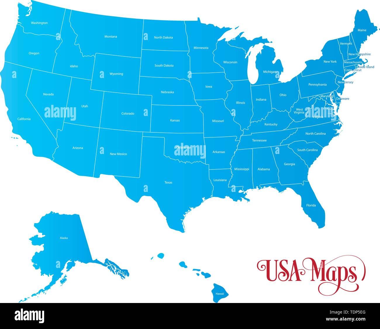 Die Vereinigten Staaten Von Amerika Usa Die Gemeinhin Als Die