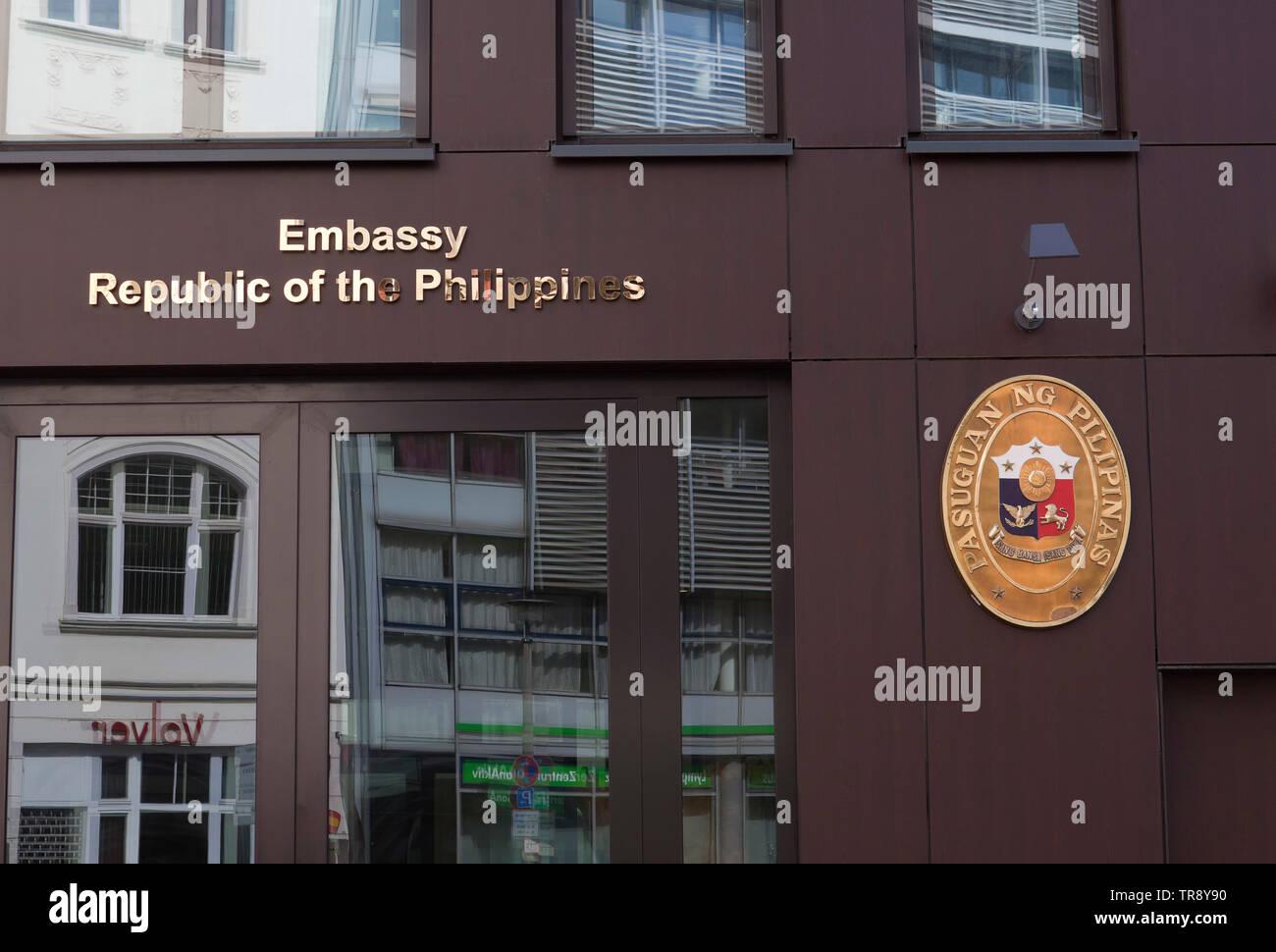 Botschaft der Republik der Philippinen, Berlin, Deutschland