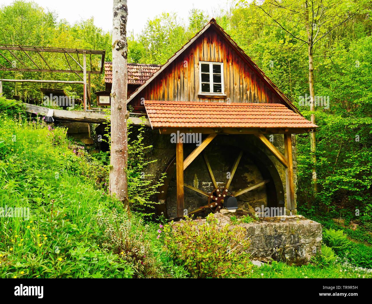 Alte Mühle im Schwarzwald Deutschland Stockfoto