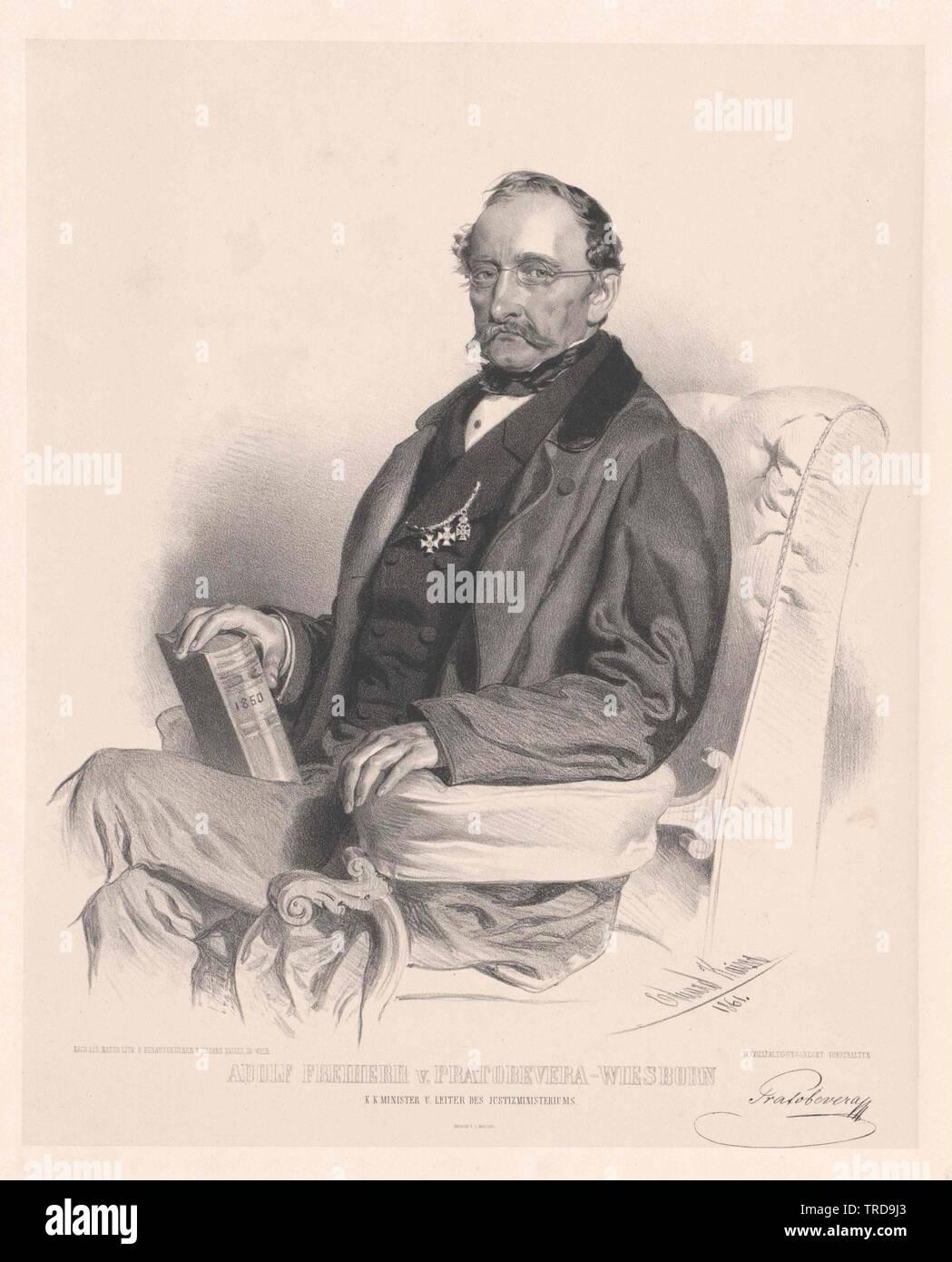 Pratobevera-Wiesborn, Adolf Baron, Additional-Rights - Clearance-Info - Not-Available Stockfoto
