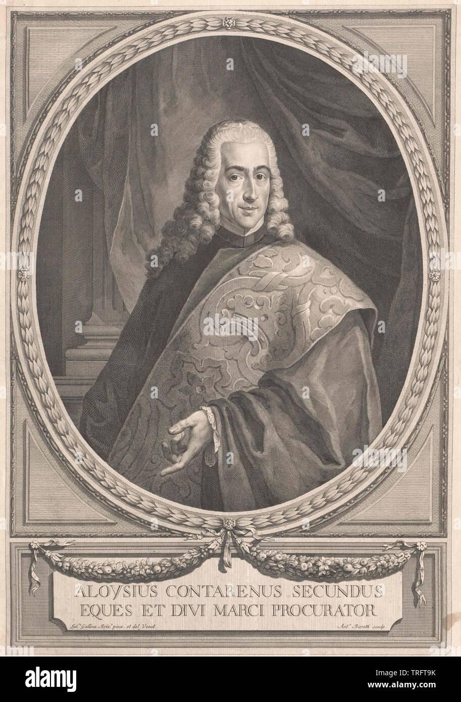 Contarini, Aloysius, lebte 2. H. aus dem 17. Jahrhundert, Additional-Rights - Clearance-Info - Not-Available Stockfoto