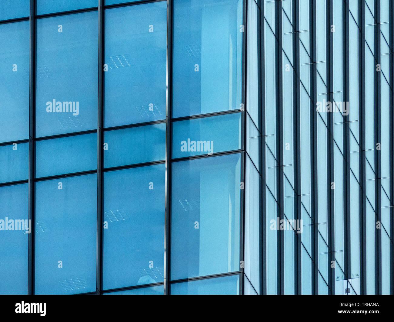 Architektonische abstrakten grafischen Stockfoto