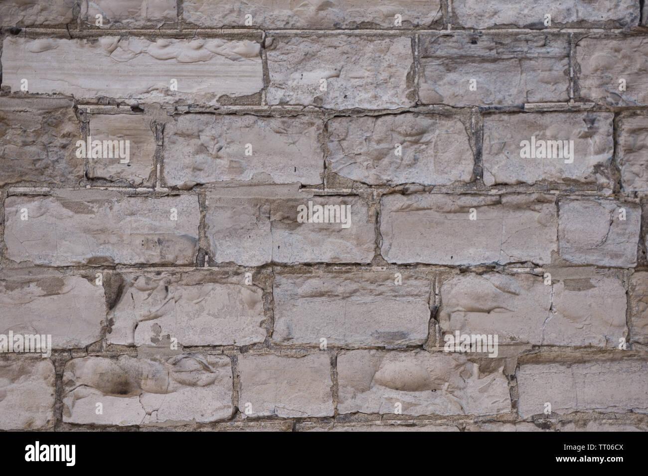 Kanada Toronto - Steinmauer Distillery District Stockbild