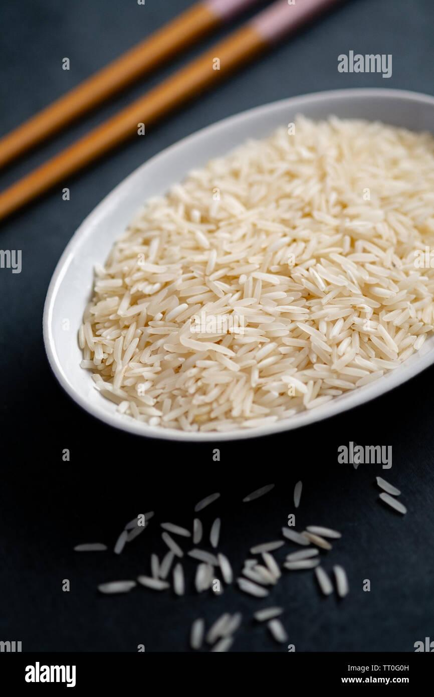 Basmati-Reis Stockfoto