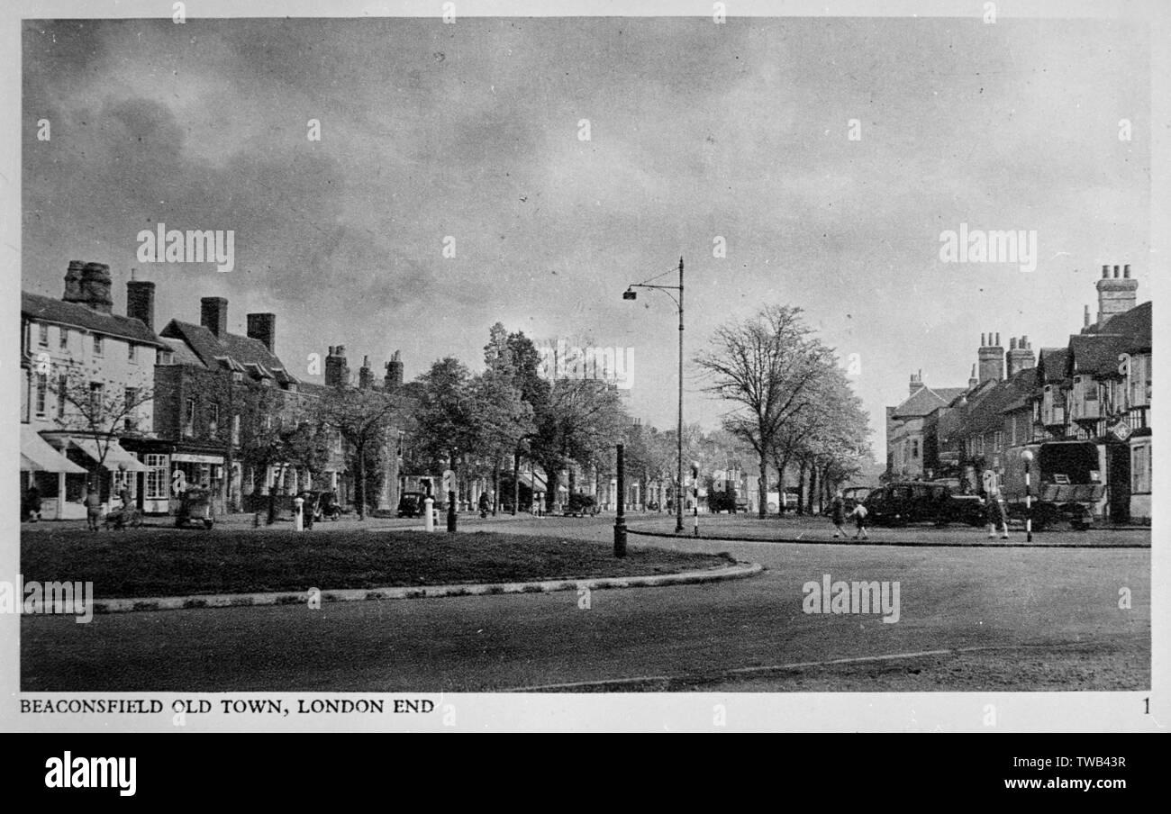 Altstadt (London), Beaconsfield, Buckinghamshire. Datum: ca. 1930 s Stockfoto