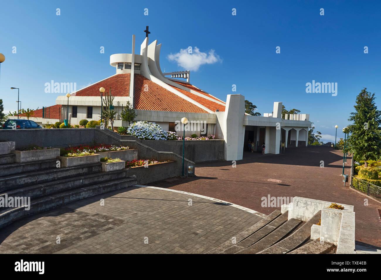 Camacha Pfarrkirche, Camacha, Madeira, Portugal, Europäische Union Stockfoto
