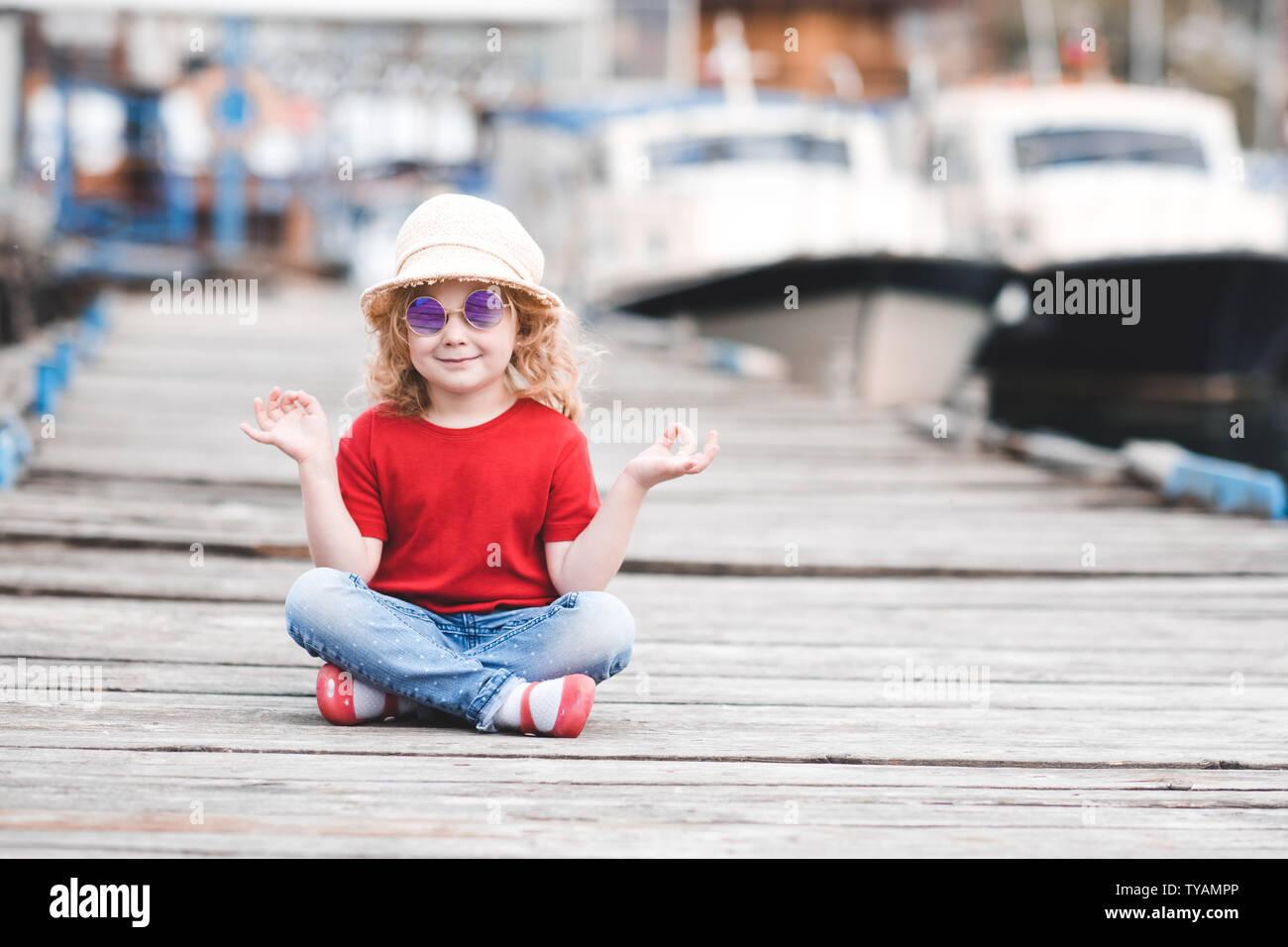 Stilvolle Baby Mädchen 3 4 Jahre alten tragen Sommer