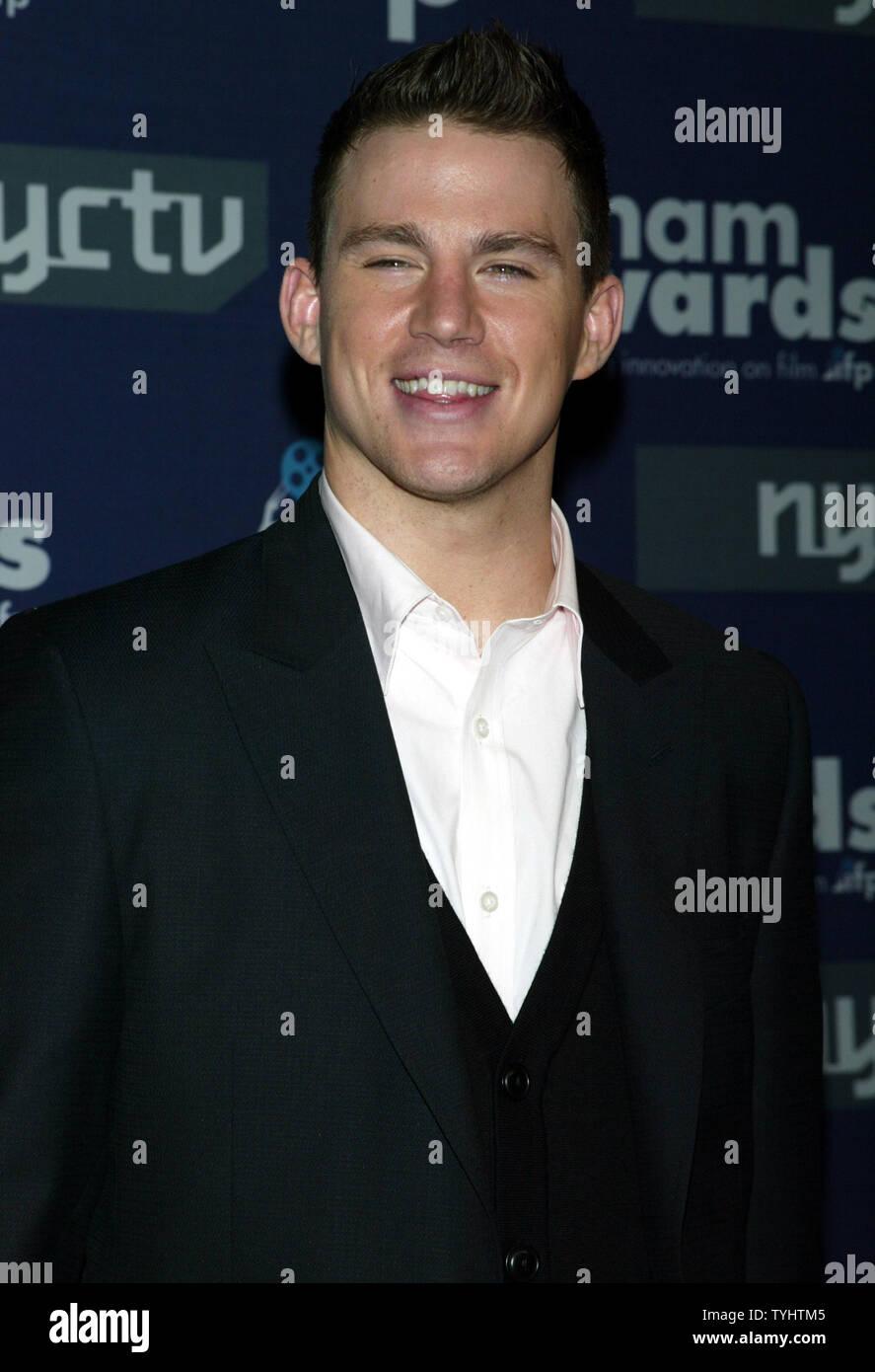 Channing Tatum kommt für die 16. jährlichen Gotham Awards am Pier 60 - Chelsea Piers in New York am 29. November 2006. (UPI Foto/Laura Cavanaugh) Stockbild