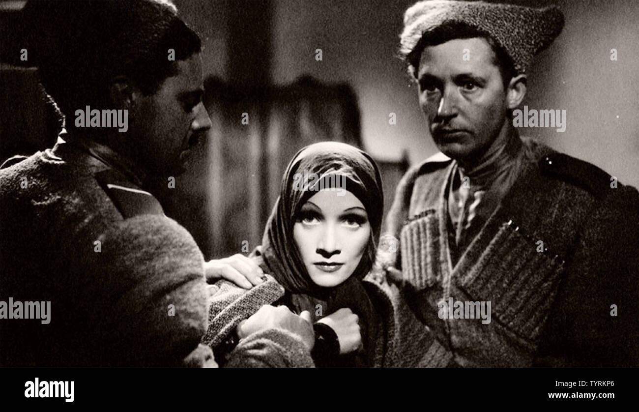 Ritter ohne Rüstung 1937 United Artists Film mit Greta Garbp Stockbild
