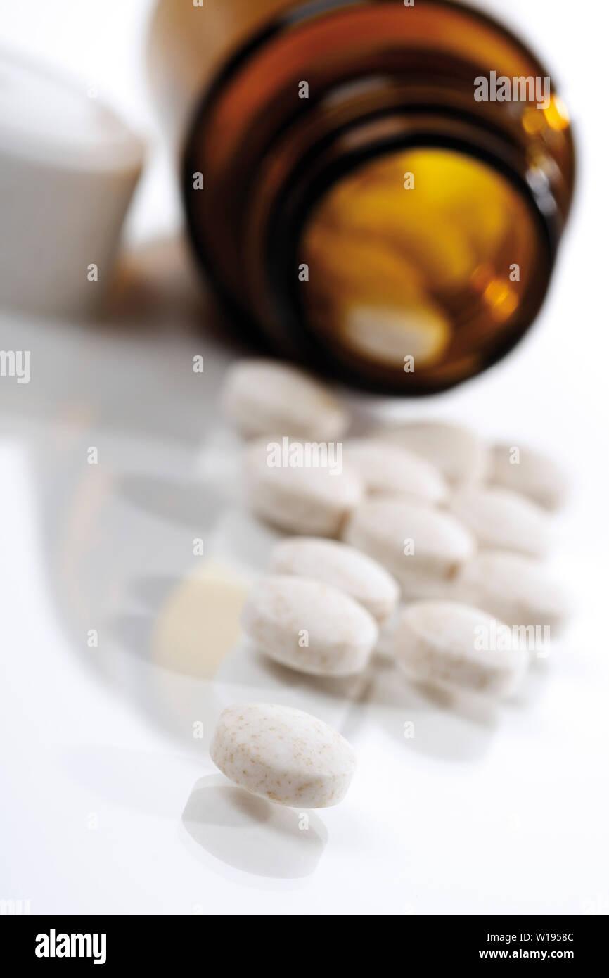 Medizin, Pille Stockfoto