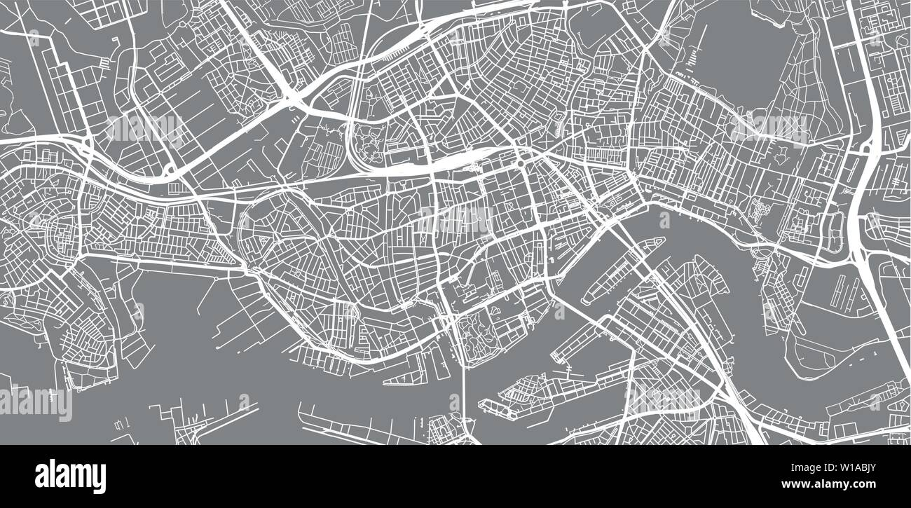 Map Of Rotterdam Stockfotos & Map Of Rotterdam Bilder - Alamy