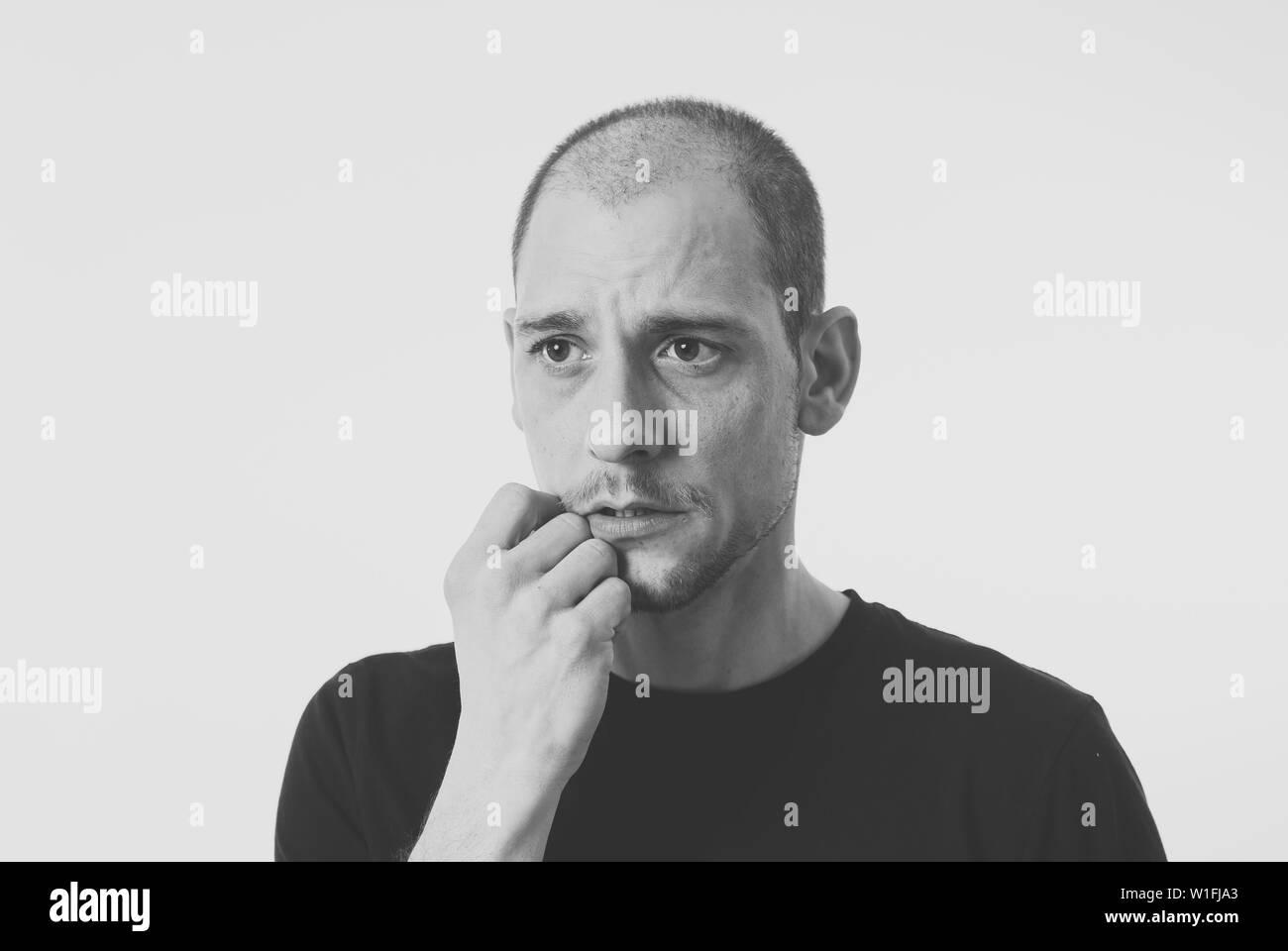 Verdutzt Schwarzweiß Stockfotos und  bilder   Alamy