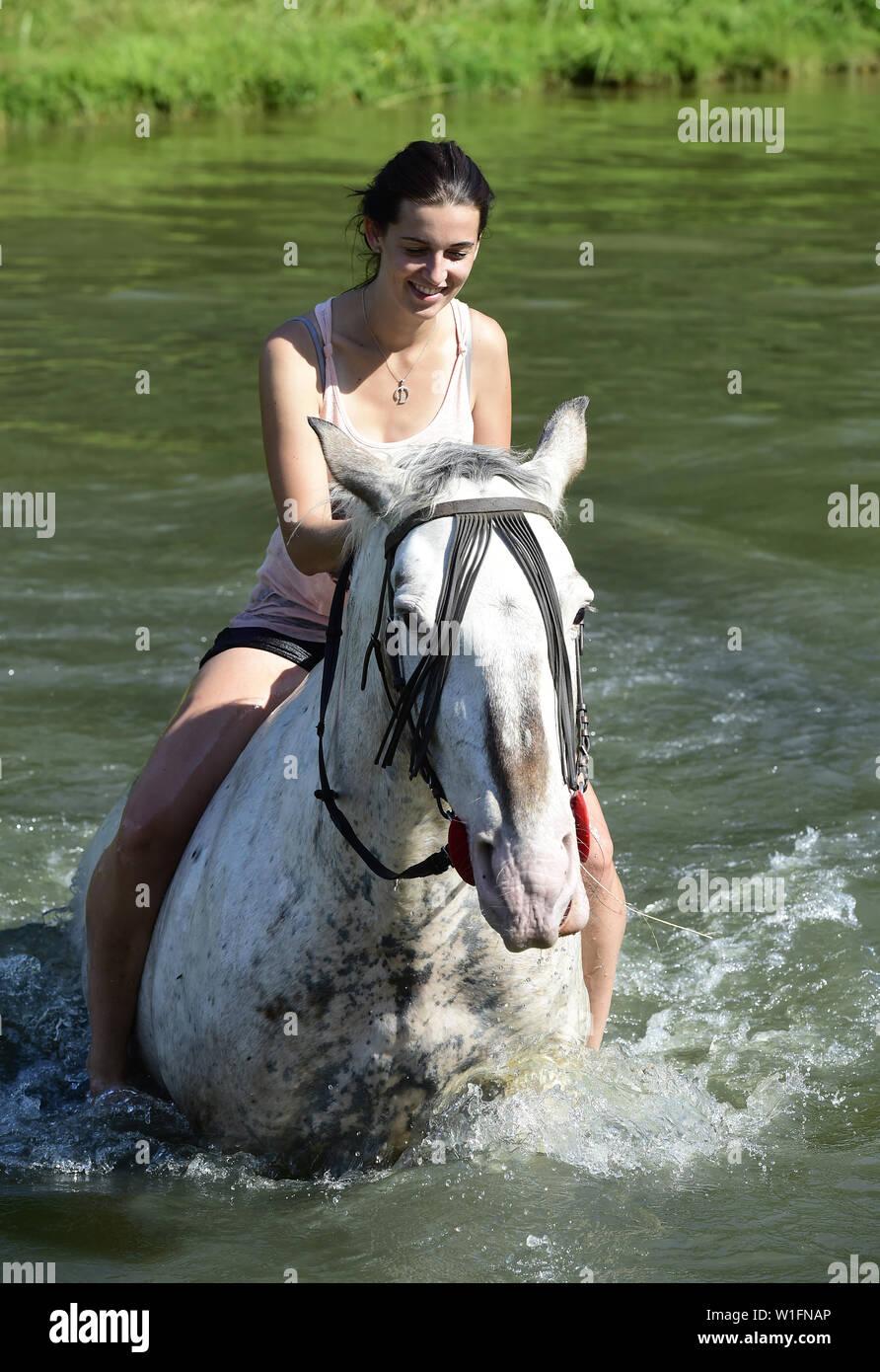 Und frauen pferde Frau und
