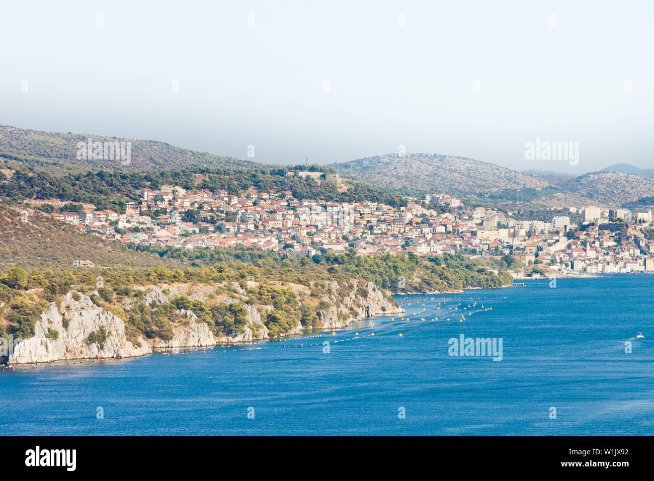 Sibenik, Kroatien, Europa - Besuch der schönen Stadt Sibenik Stockfoto