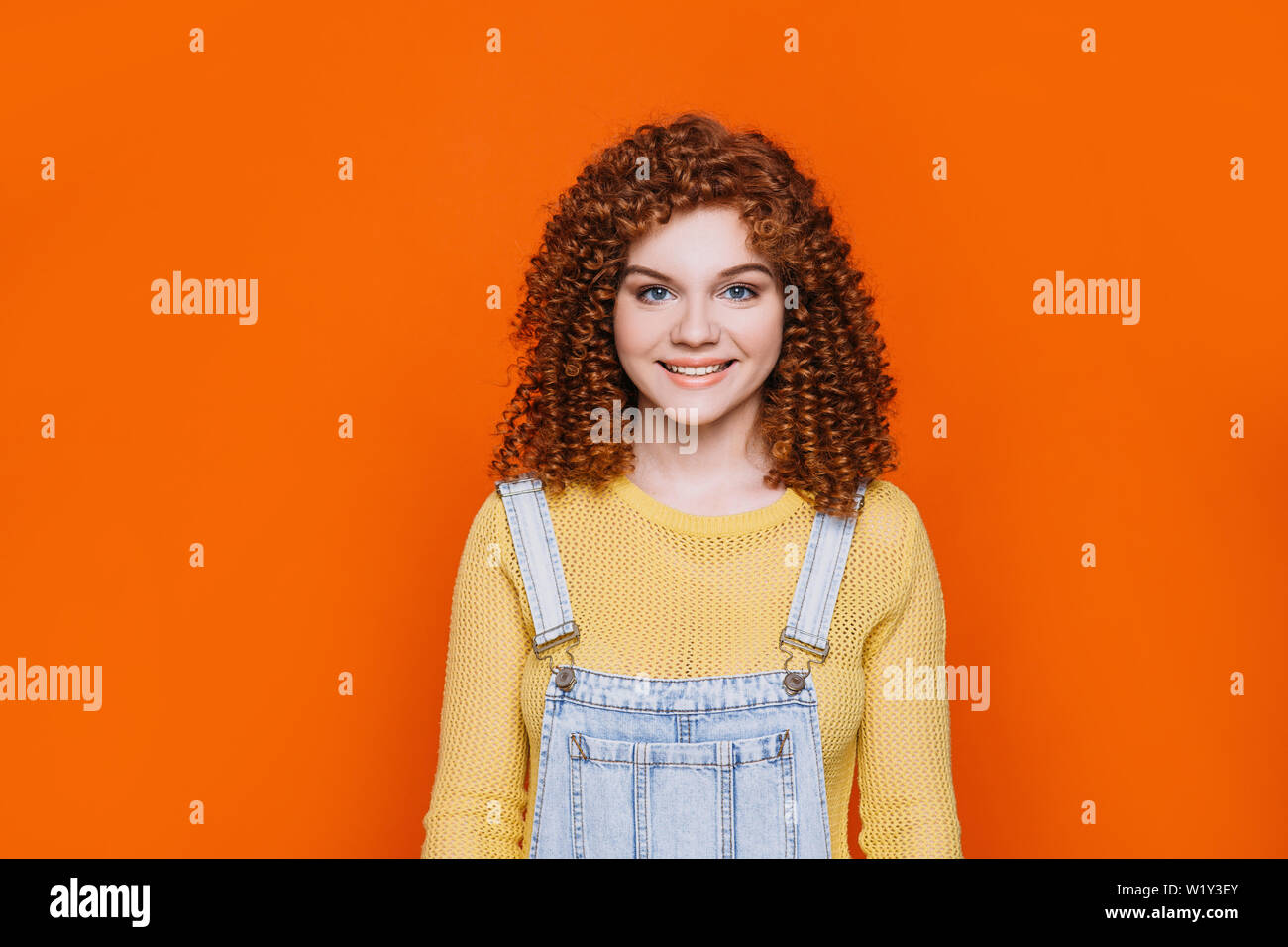 Orange Rote Haare Behaart Stockfotos Orange Rote Haare
