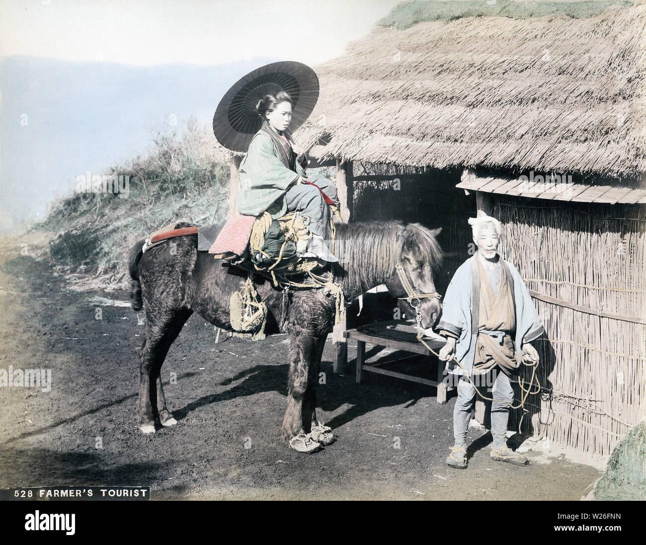 Gedeckt frau vom pferd Wyatt Earp