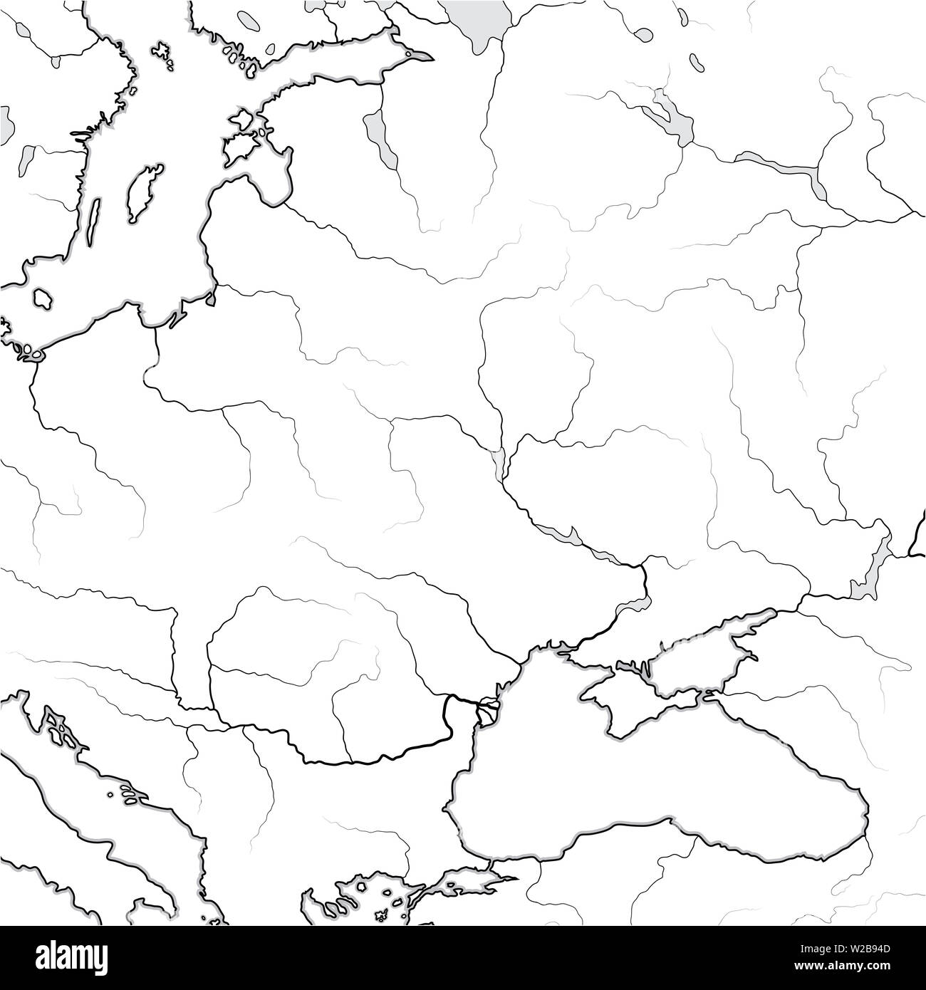 Jugoslawien Karte Früher.Map Russia Poland Ukraine Stockfotos Map Russia Poland Ukraine