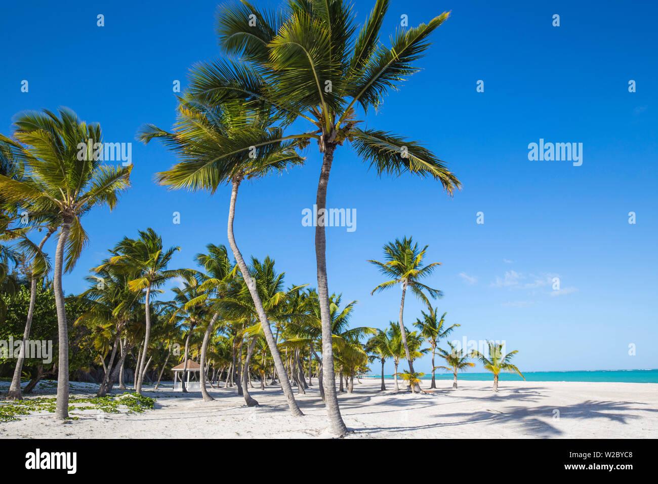 Dominikanische Republik, Punta Cana, Punta Cana und Juanillo Beach Stockfoto