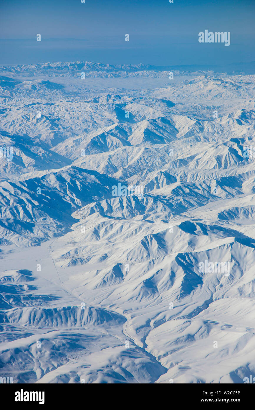 Kuristan Region in der östlichen Türkei nahe der iranischen Grenze Stockbild