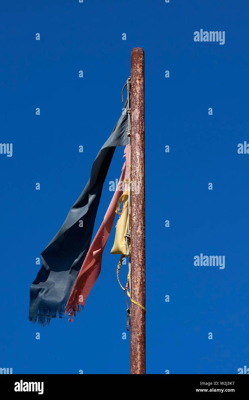 Symbol für den Status von Deutschland Stockbild