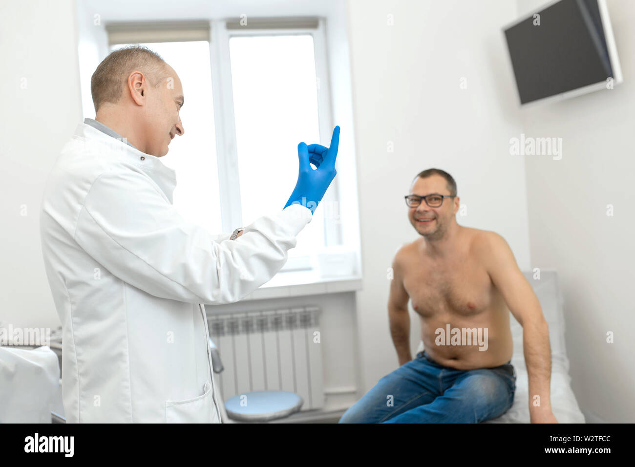 Medizinische prostatamassage