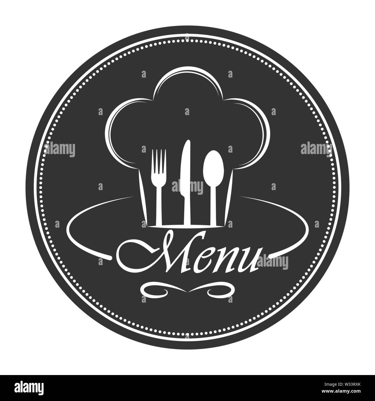 Vorlage Für Die Gestaltung Und Dekoration Der Speisekarte Im