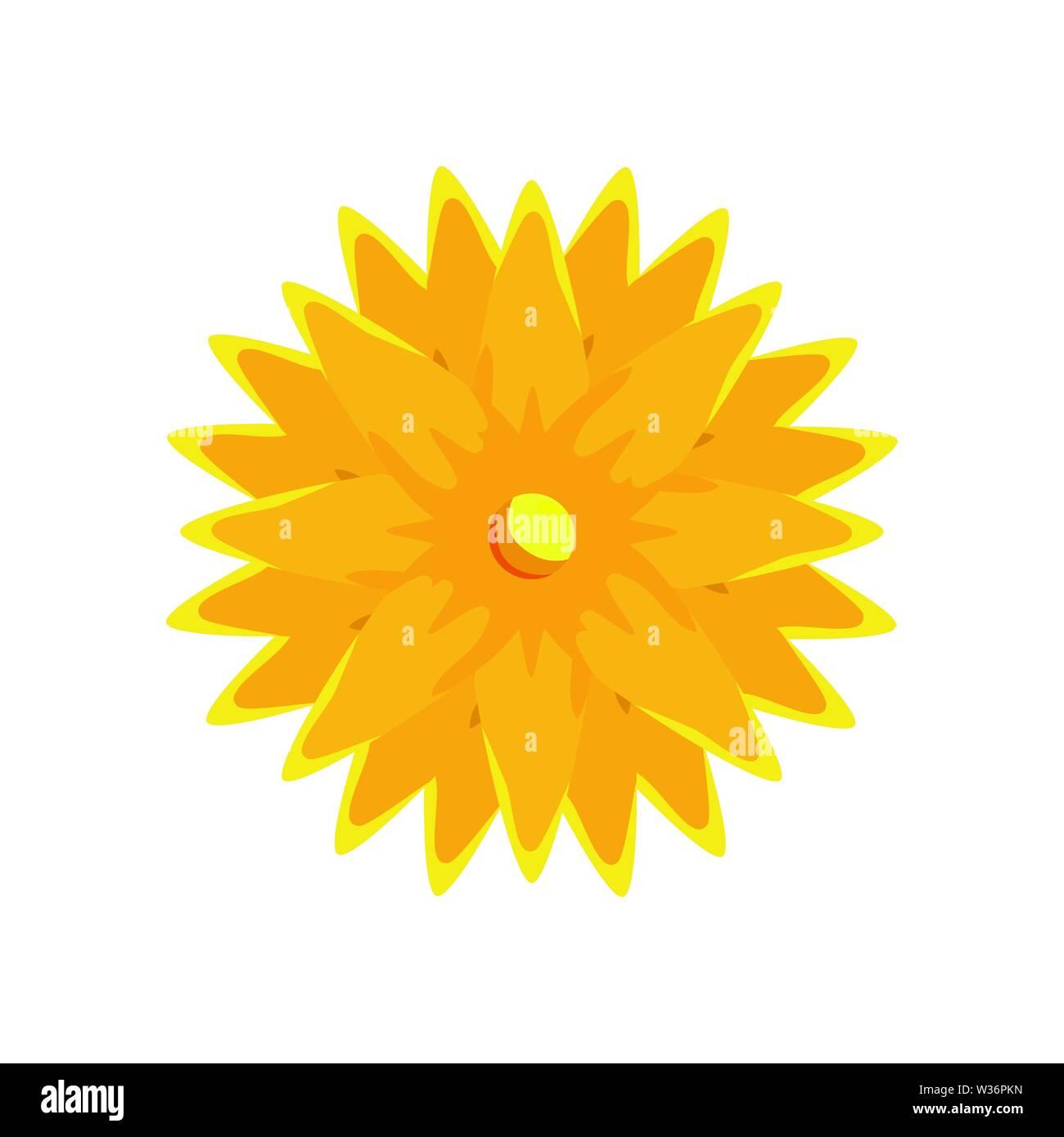 Ramadan Kareem Blume dekorative Symbol Stockbild