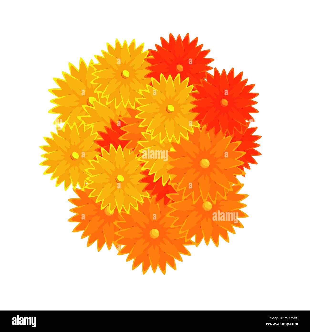 Ramadan Kareem Blumen dekorative Symbole Stockbild