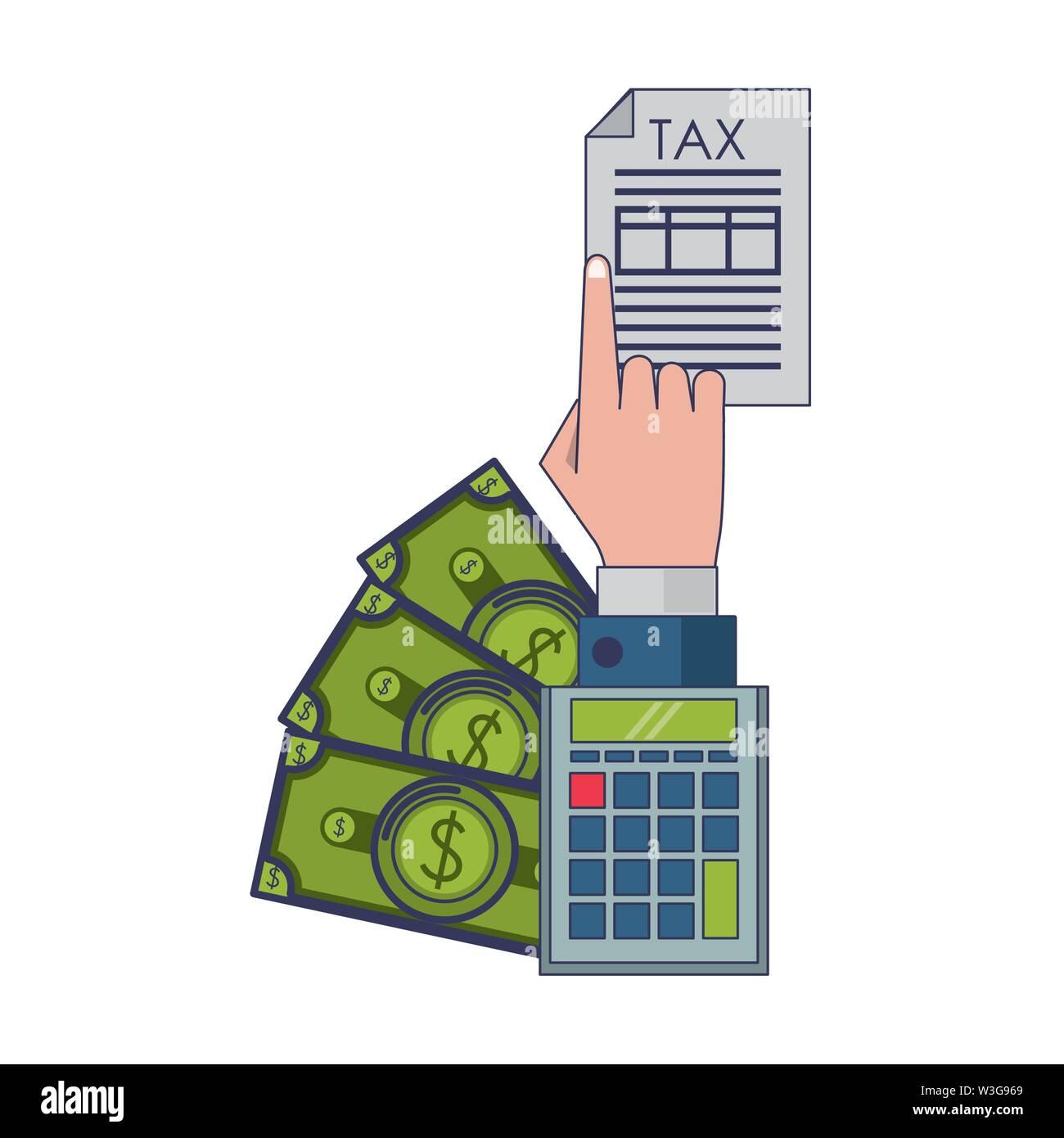 Landesregierung business Cartoon Stockbild