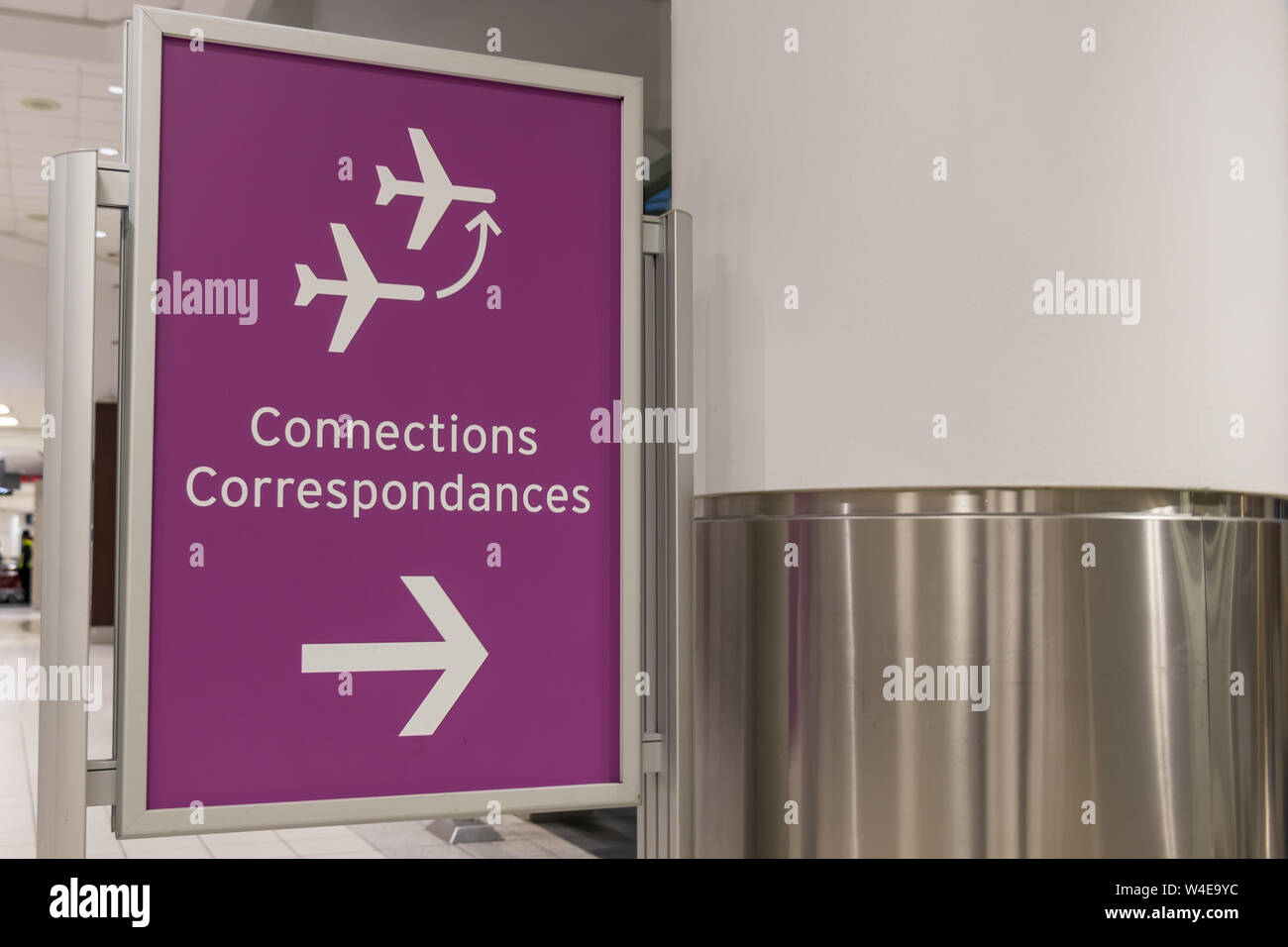 Airport Connections Stockfotos Airport Connections Bilder