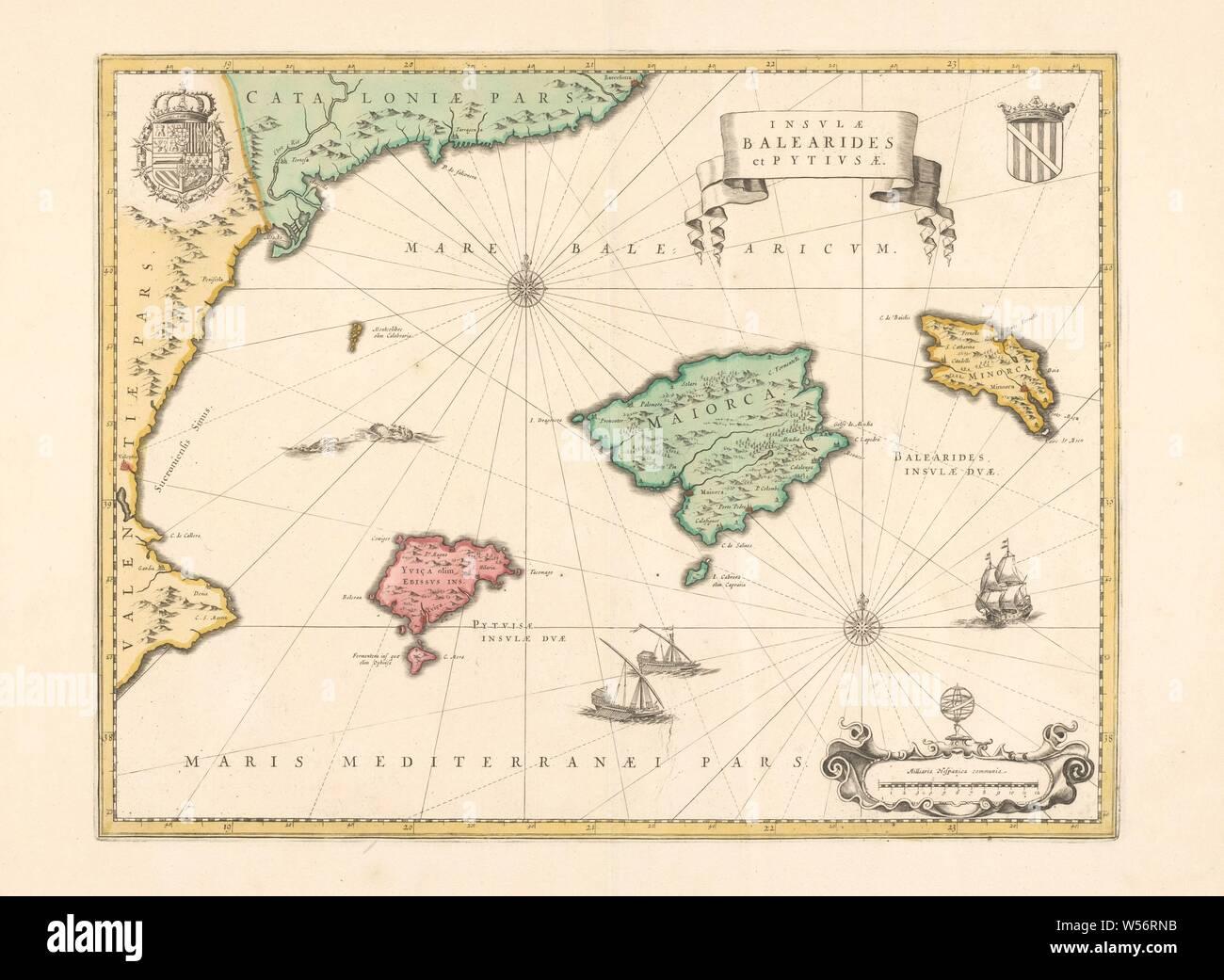Spanien Karte Küsten.Spanien Karte Stockfotos Spanien Karte Bilder Alamy