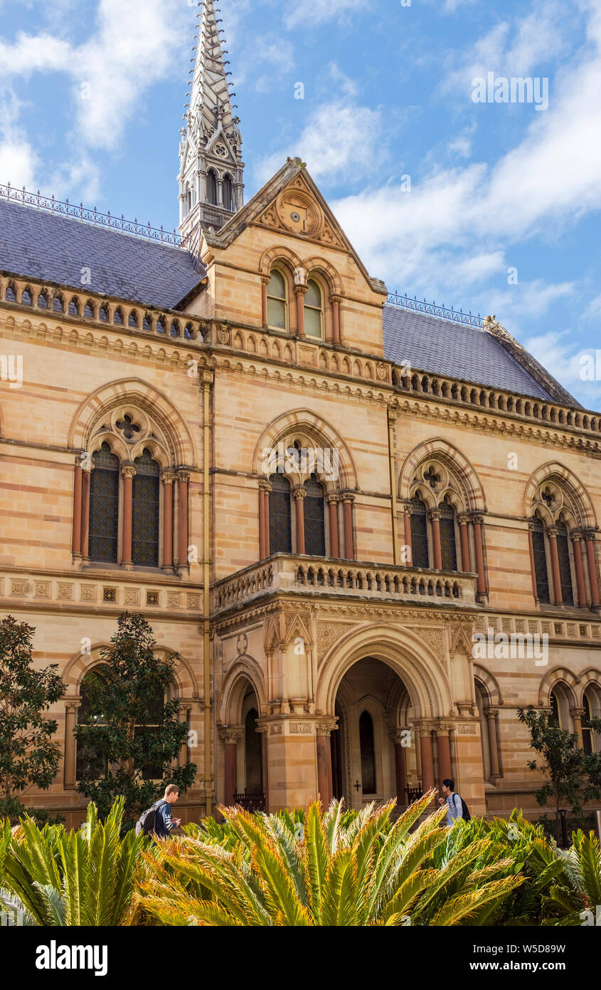 University of Adelaide in North Terrace Adelaide, South Australia, Australien Stockfoto