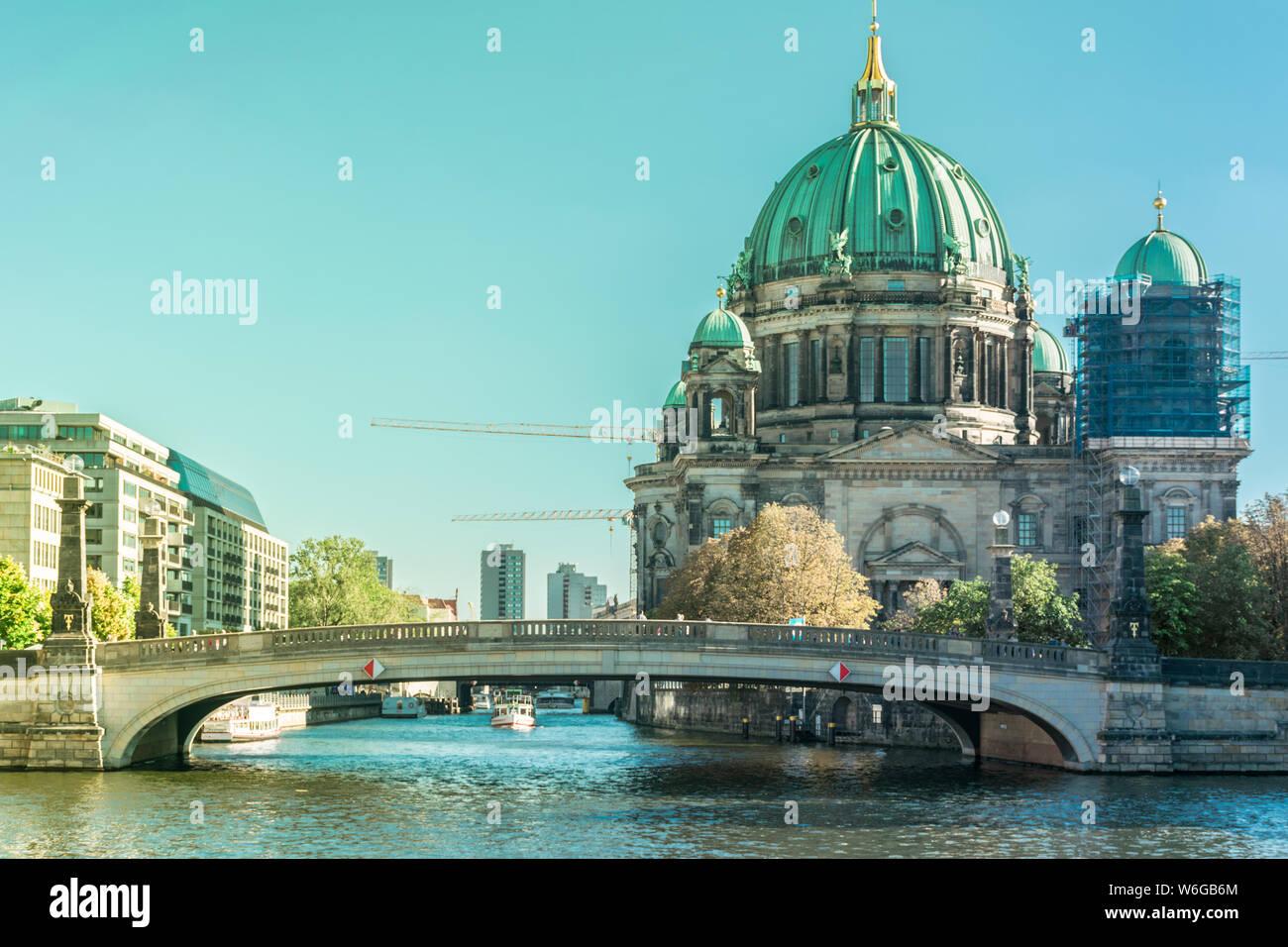 BERLIN, DEUTSCHLAND 26. SEPTEMBER 2018: Schöne Übersicht