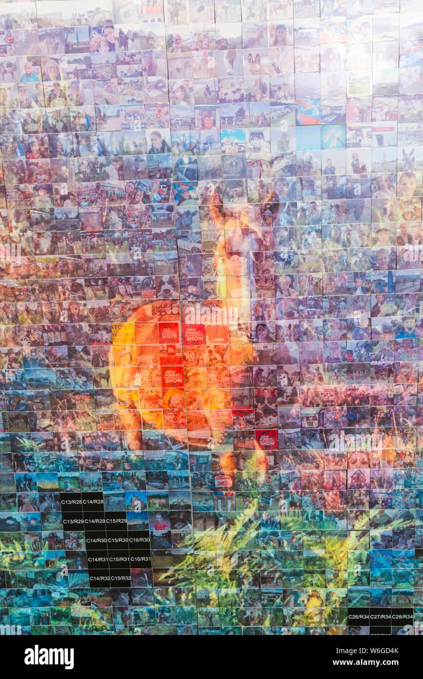 Collage Kunst Stockfotos Und Bilder Kaufen Alamy