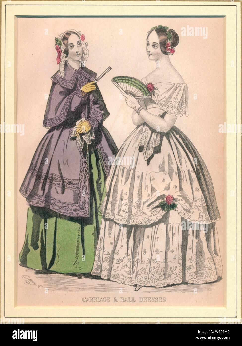 viktorianischen damen ballkleid stockfotos und -bilder