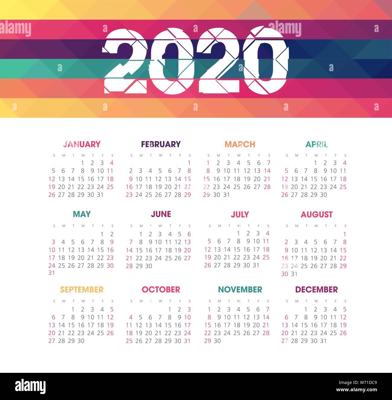 kalender 2020 stockfotos kalender 2020 bilder alamy. Black Bedroom Furniture Sets. Home Design Ideas