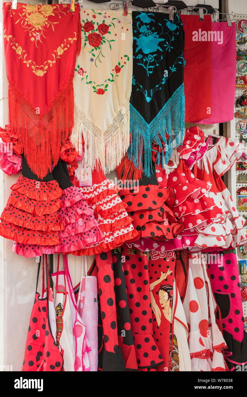 kleid flamenco stil best price df3d9 2a58c