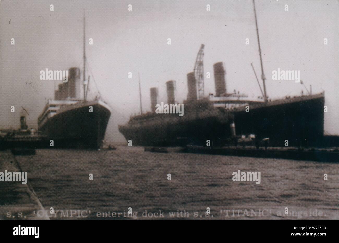 Titanic Transport Ship Stockfotos und  bilder Kaufen   Alamy