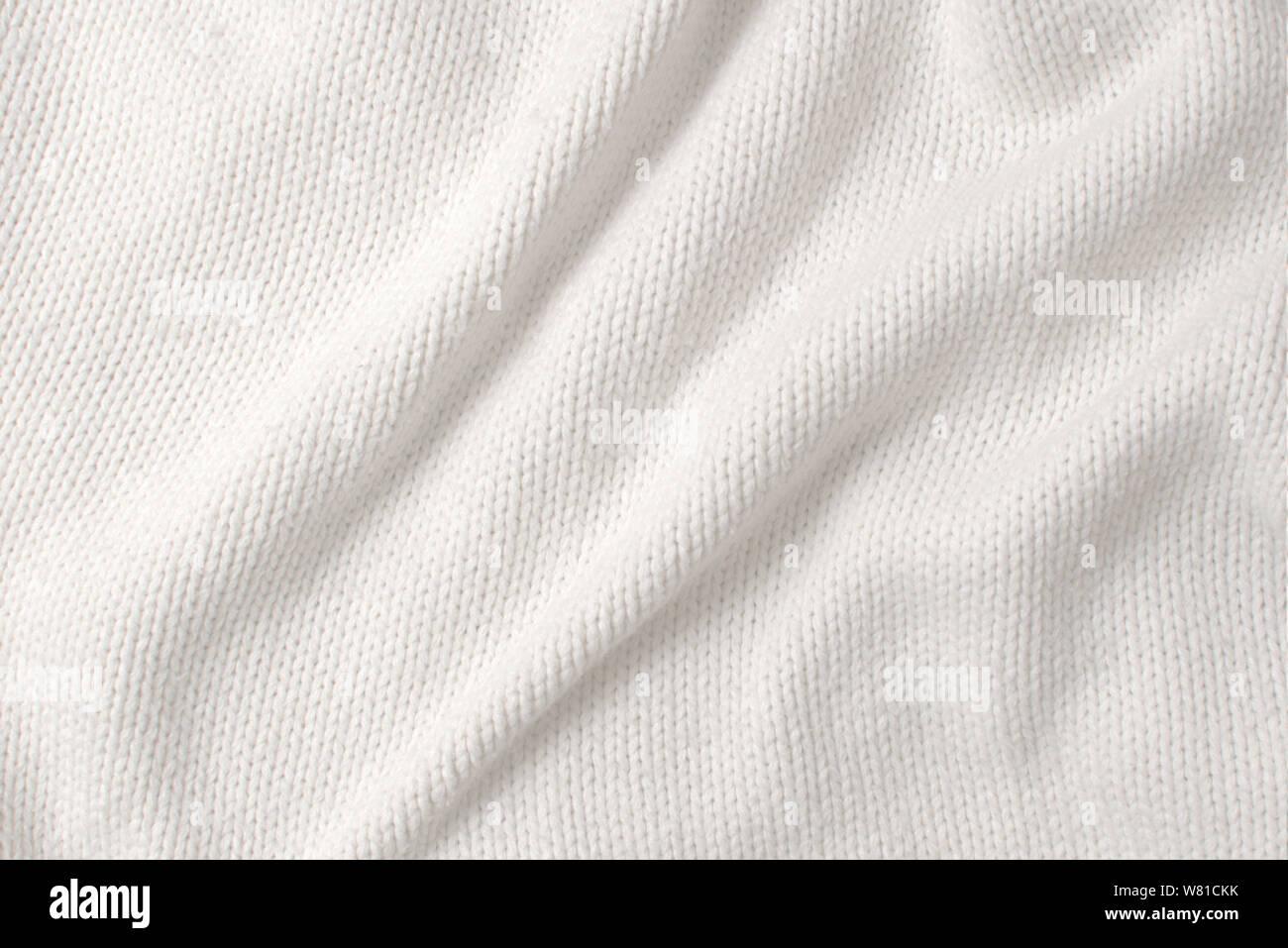 free shipping 7bb3a e0b86 Weißer Wollpullover, Textur Detail Nahaufnahme Stockfoto ...
