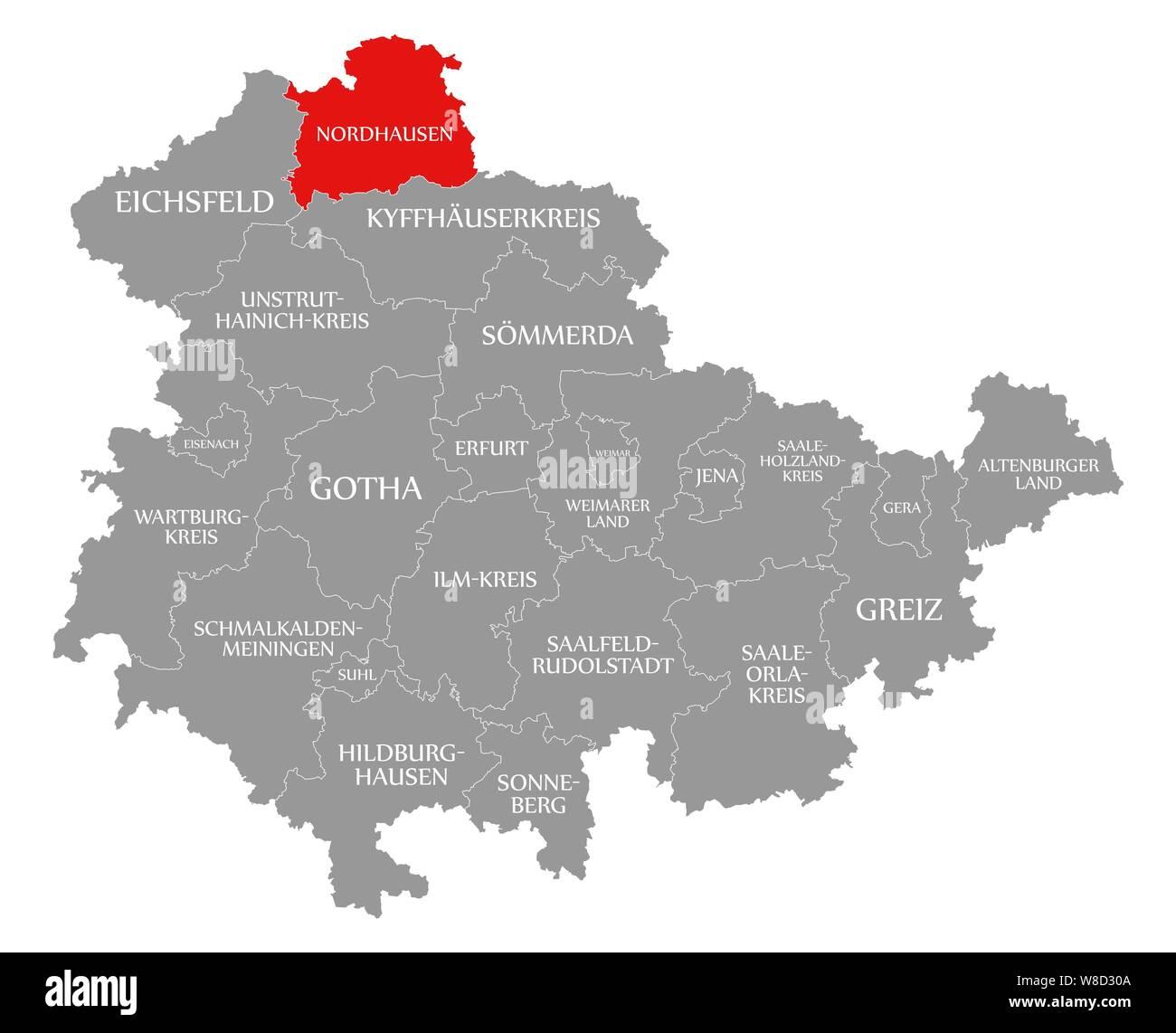 Nordhausen Karte.Nordhausen Stockfotos Nordhausen Bilder Alamy